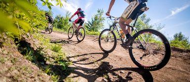 Vélo de montagne au Mont Arthabaska de Victoriaville