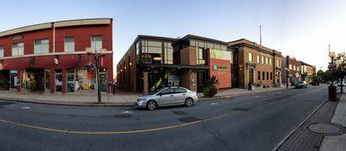 Centre-ville de Victoriaville, été 2015
