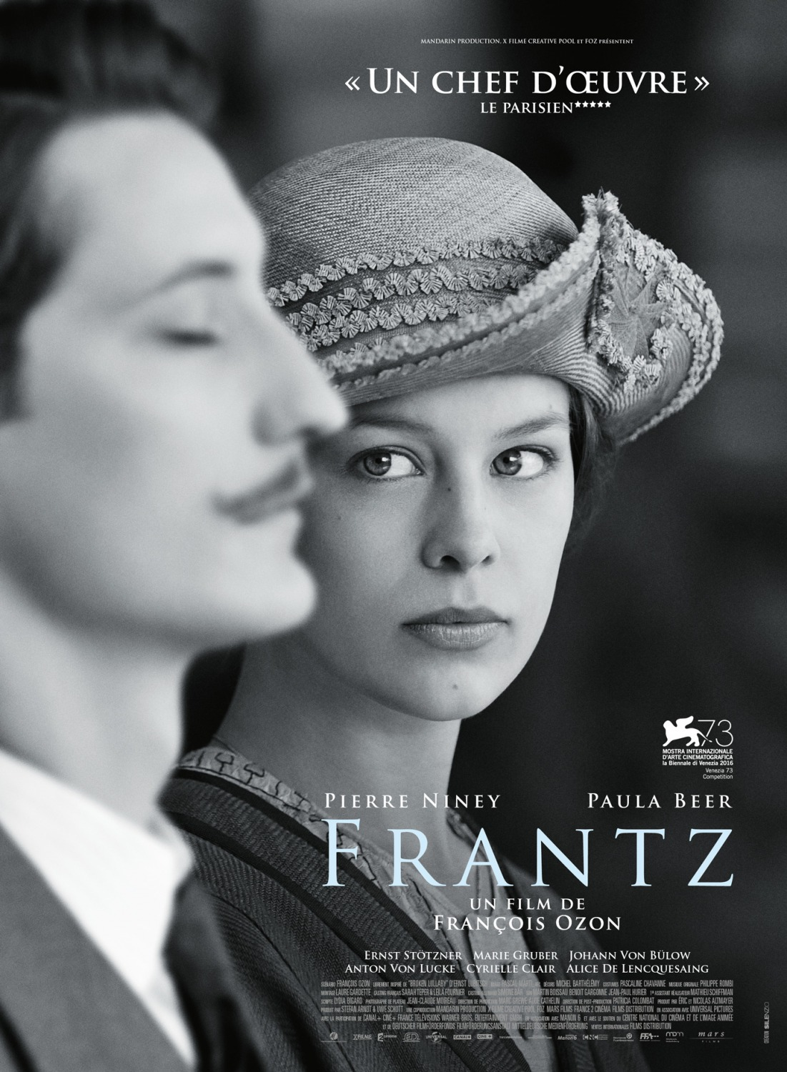 Poster officiel du film Frantz
