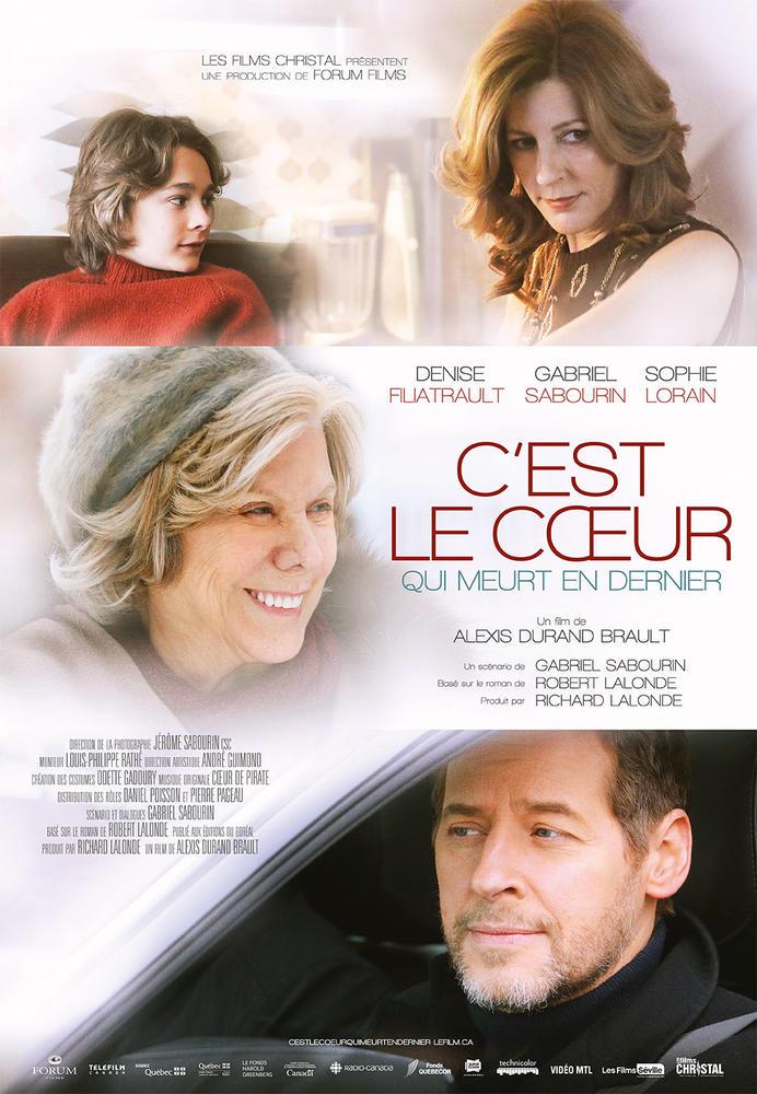 Poster officiel du film C'est le coeur qui meurt en dernier