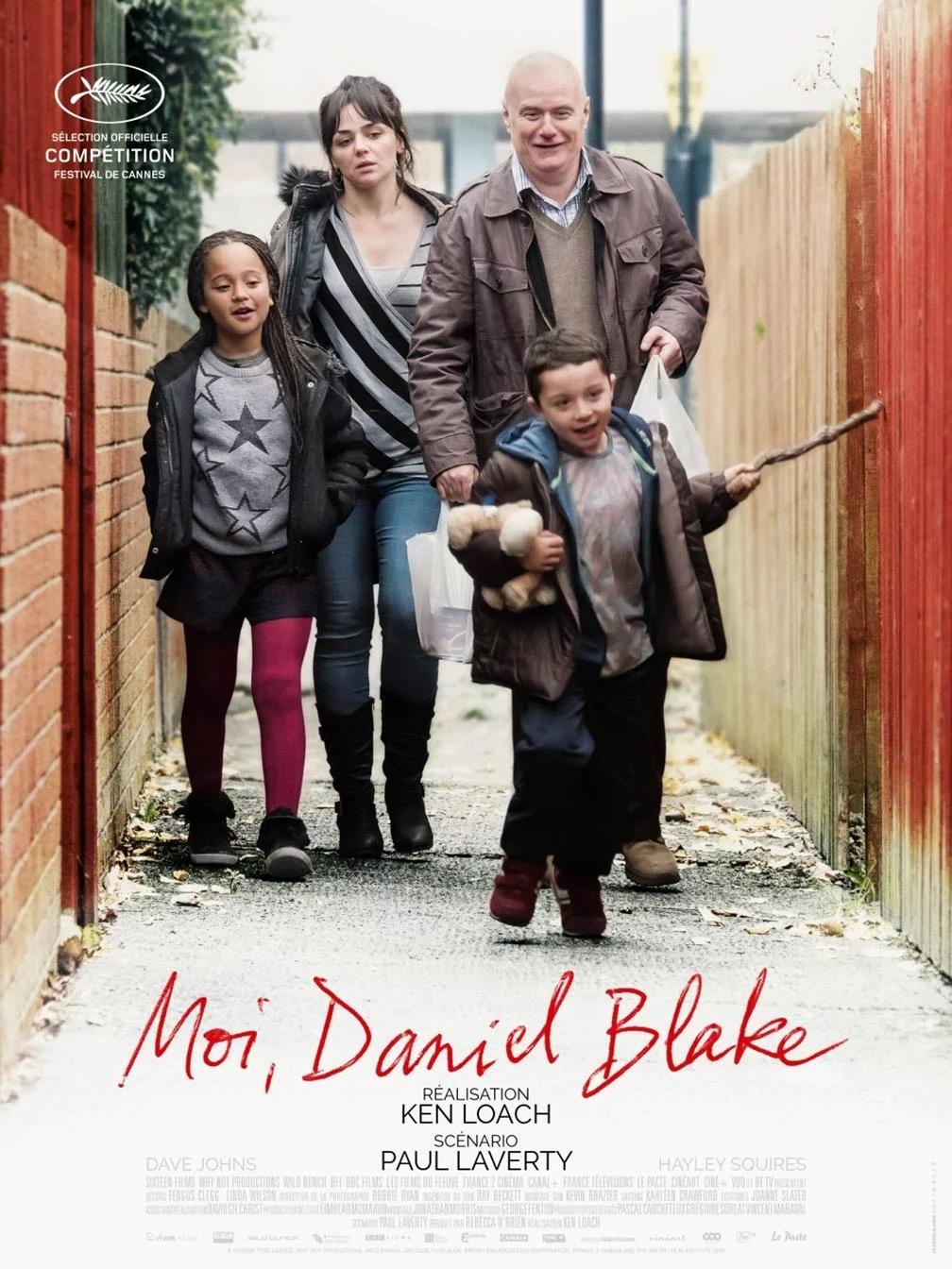 Poster officiel du film Moi, Daniel Blake