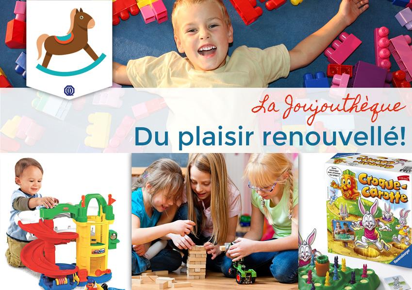 Affiche de la Joujouthèque des Bois-Francs