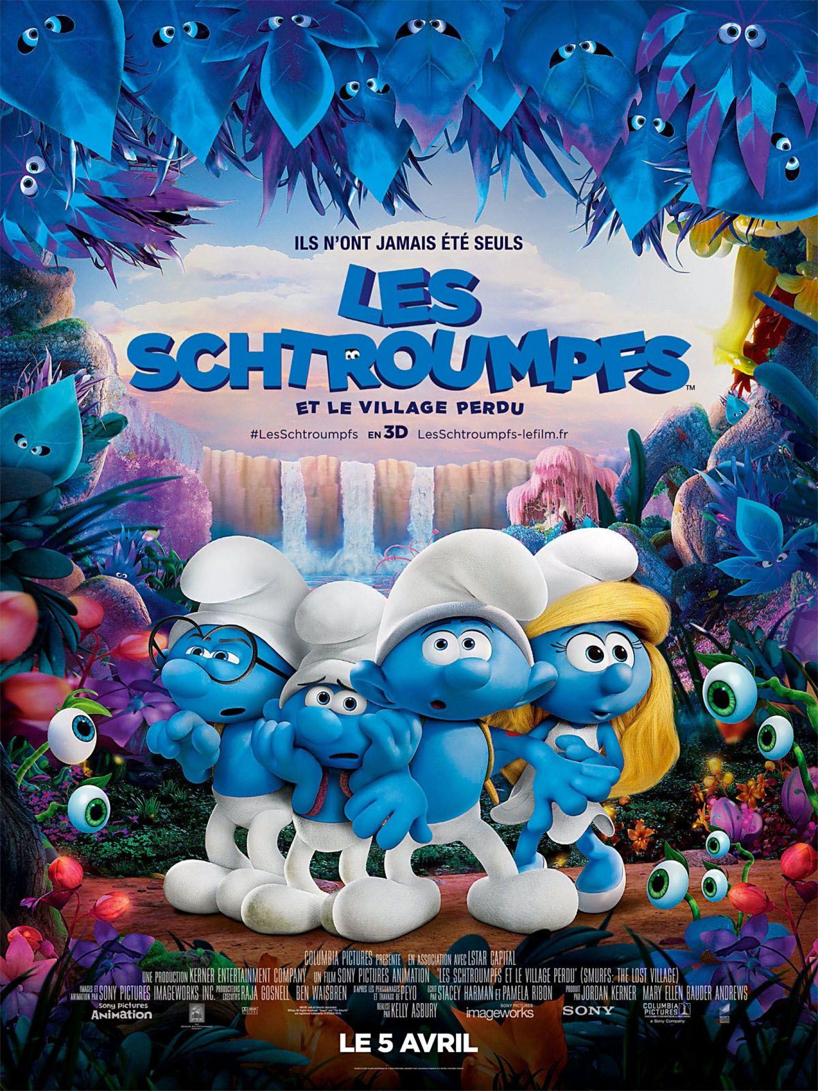 Affiche du film: Les Schtroumpfs, le village perdu