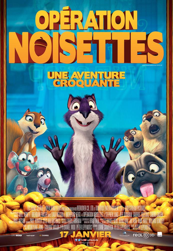 Affiche du film: Opération noisettes