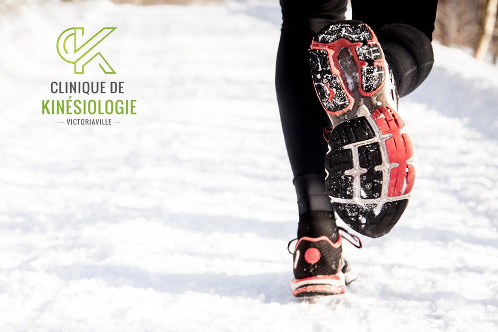Jogging pour débutant par la Clinique de Kinésiologie de Victoriaville