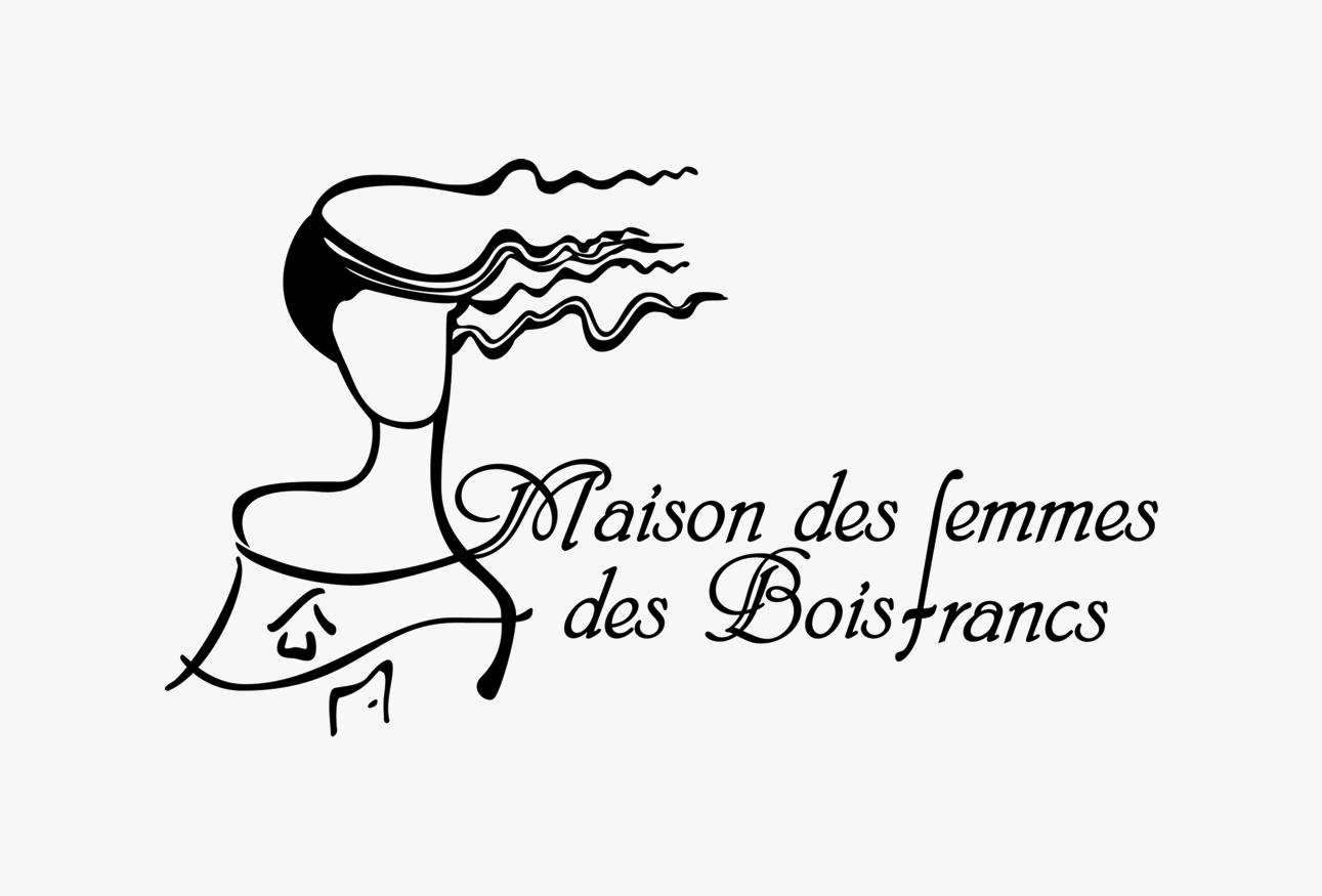 Logo de la Maison des femmes des Bois-Francs