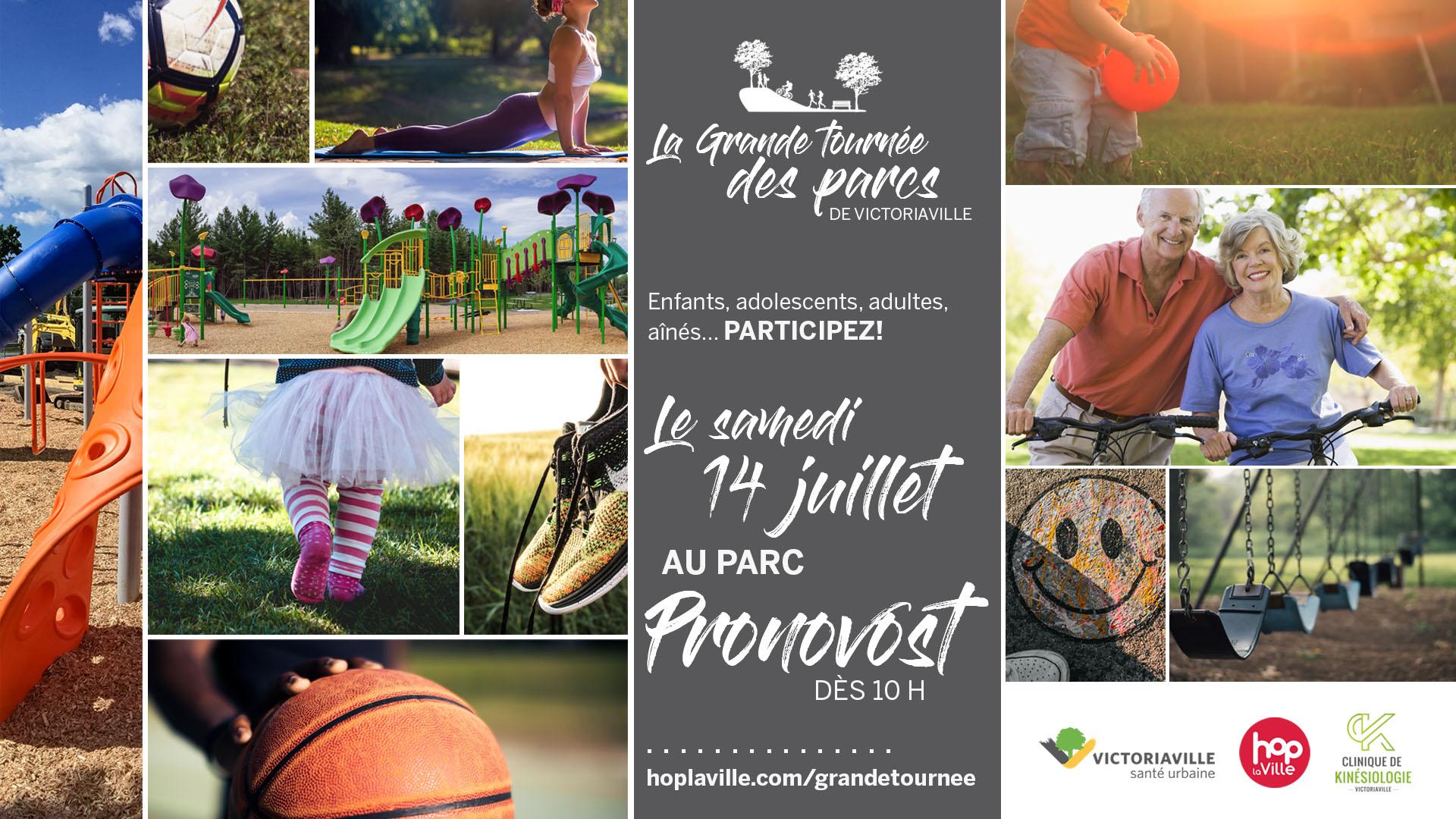 La Grande tournée des parcs - Pronovost
