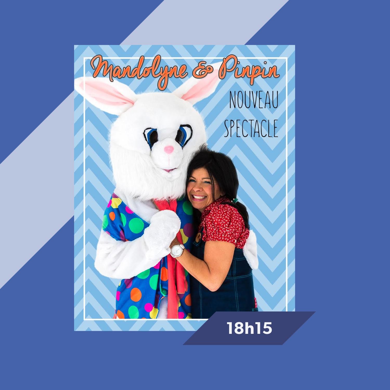 Spectacle pour enfants Tourne la vie avec Mandolyne et Pinpin