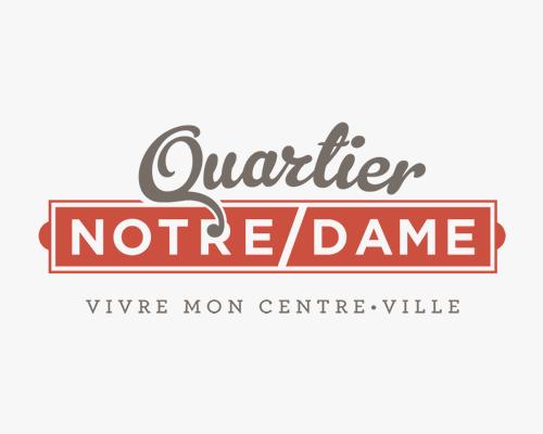 Logo du Quartier Notre-Dame (centre-ville de Victoriaville)