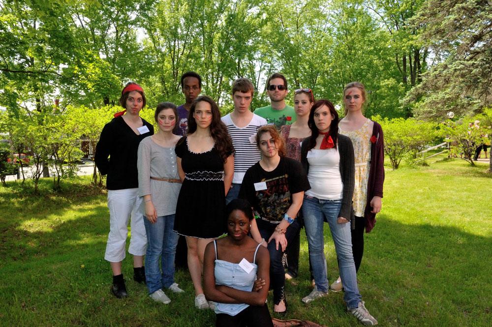 La troupe: Les Entre'parleurs