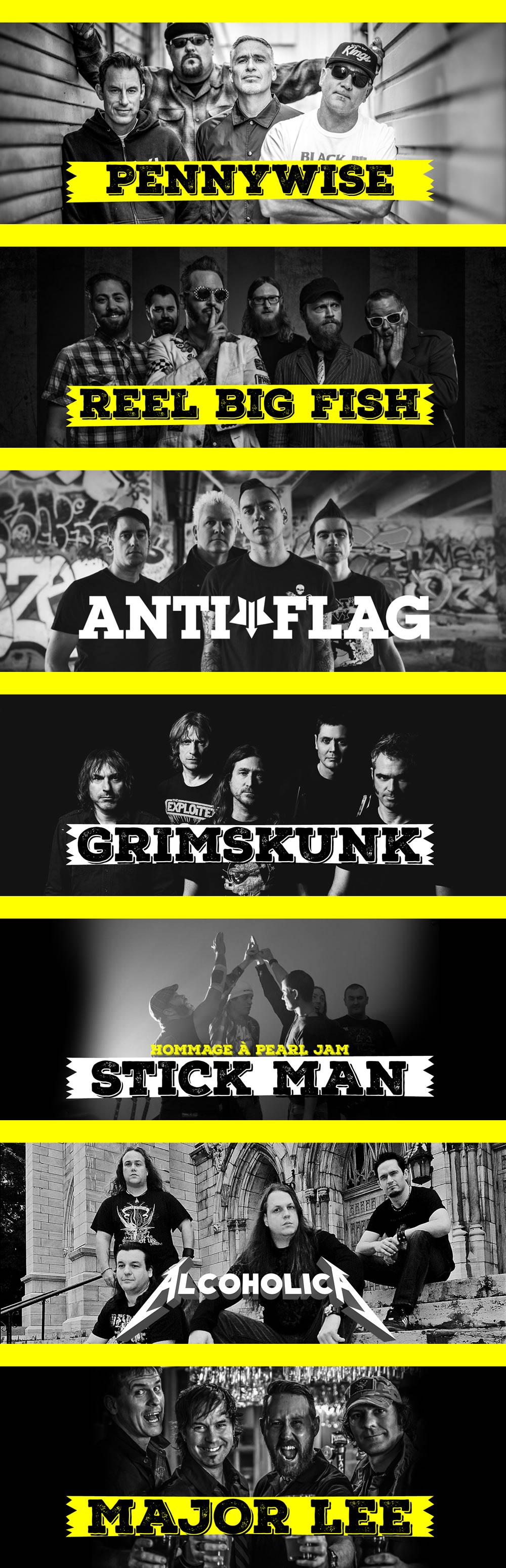 Ils seront présents à Victo pour Rock la Cauze, le samedi 11 août 2018!