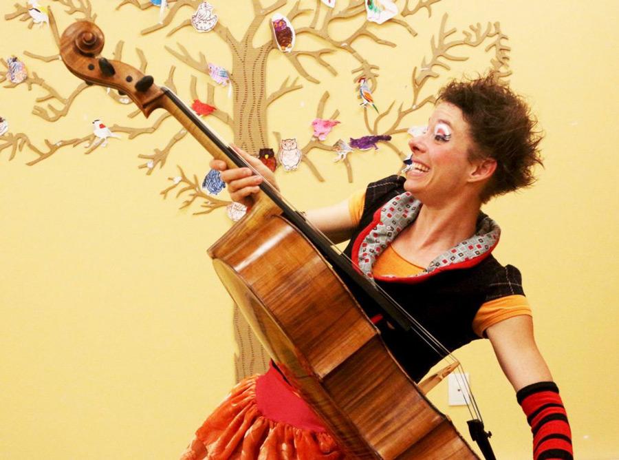 Fredoline au violoncelle