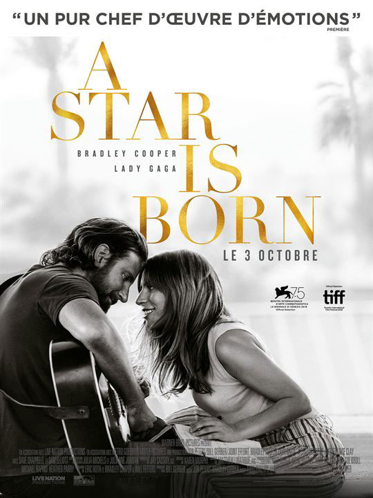 135 minutes - A Star is Born (v.f.)