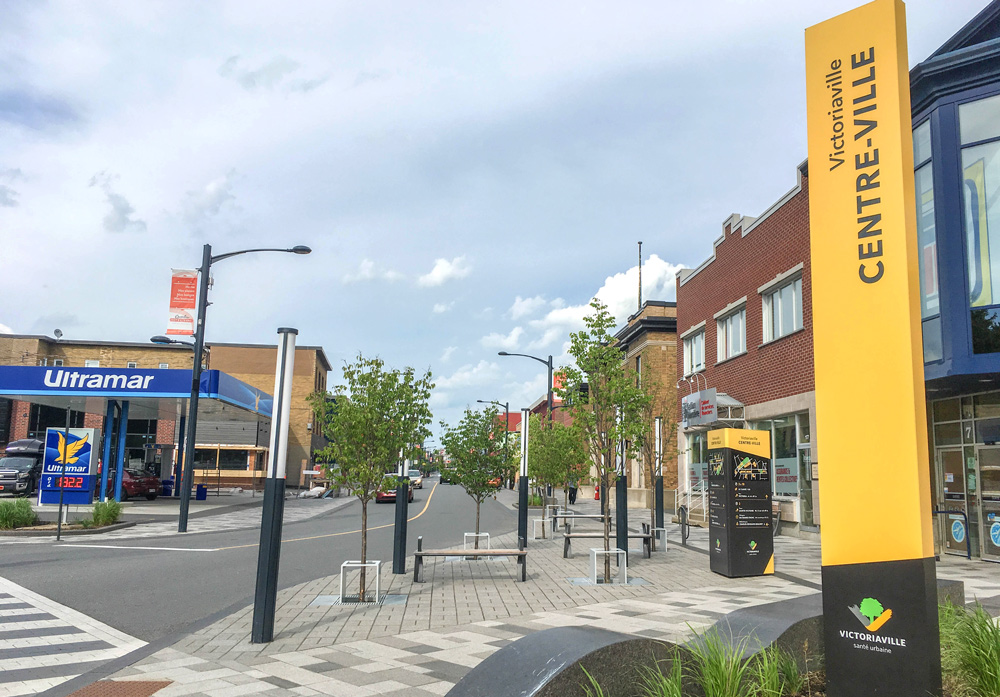 Centre-ville de Victoriaville