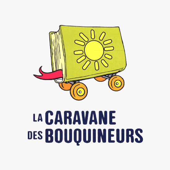 Logo de la Caravane des Bouquineurs
