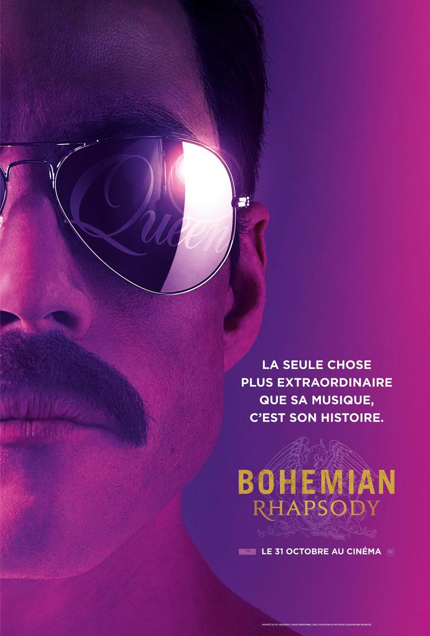134 minutes - Bohemian Rhapsody