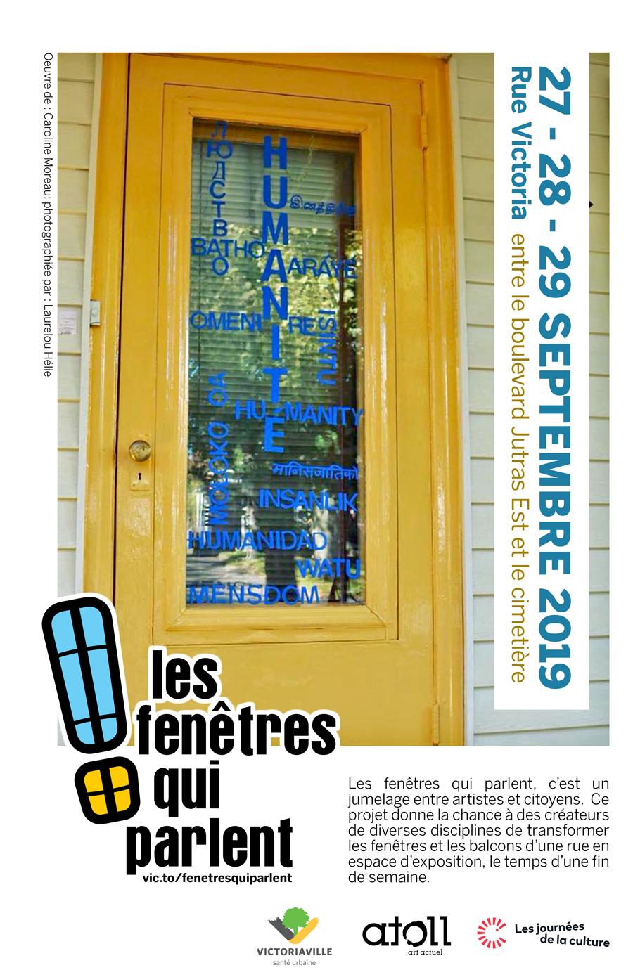 Exposition: Les fenêtres qui parlent