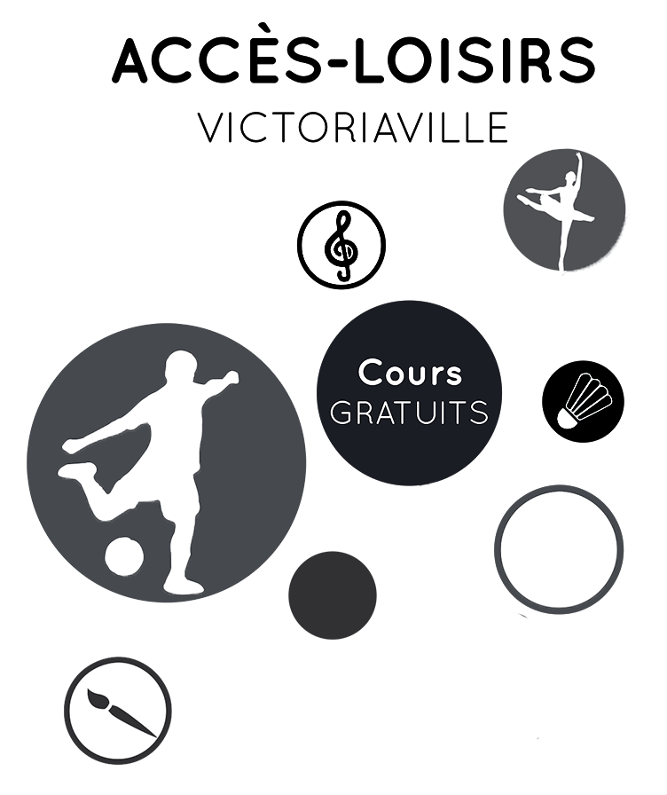 Logo du programme Accès-Loisirs de Victoriaville