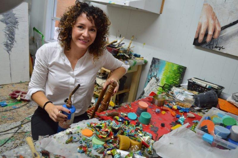 Atelier et salle d'exposition Andrée-Anne Laberge du Quartier Notre-Dame, au centre-ville de Victoriaville