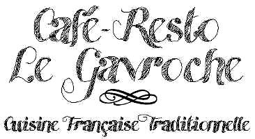 Logo Café-resto Le Gavroche