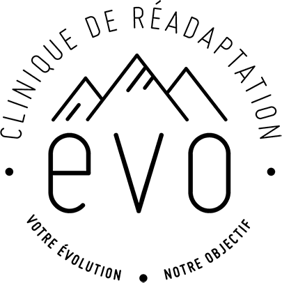 Logo Clinique de réadaptation ÉVO