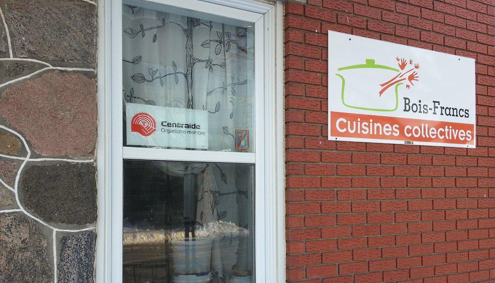 Les Cuisines Collectives des Bois-Francs du Quartier Notre-Dame, au centre-ville de Victoriaville