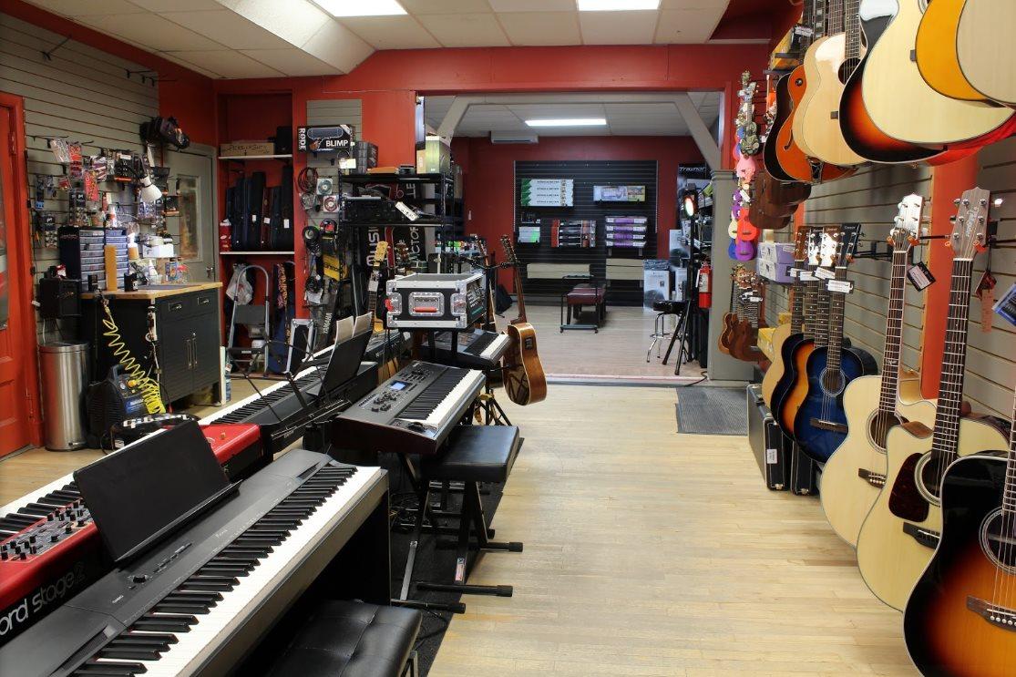 Flibotte Musique du Quartier Notre-Dame, au centre-ville de Victoriaville