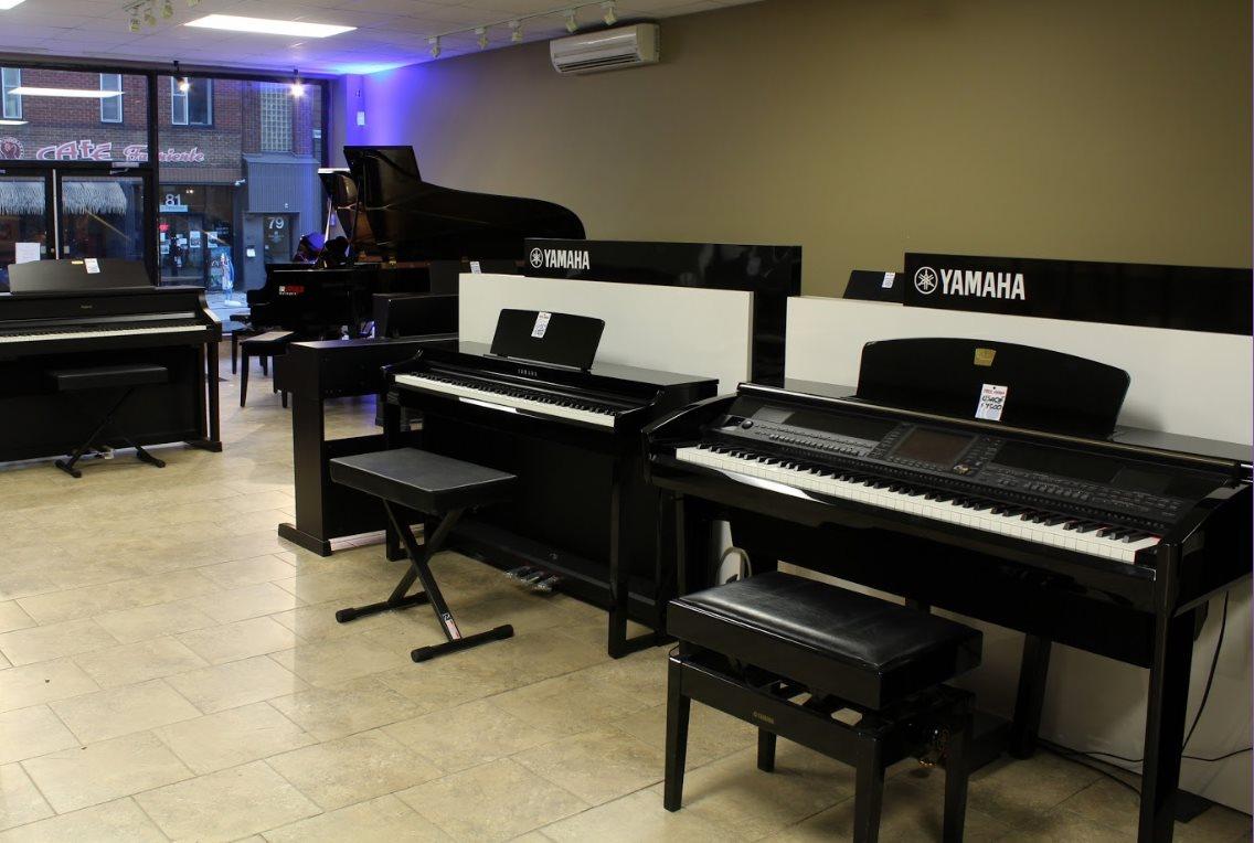 Gérald Musique du Quartier Notre-Dame, au centre-ville de Victoriaville
