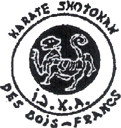 Logo Club de karaté Shotokan I.J.K.A. des Bois-Francs