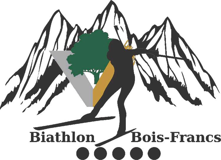 Logo Club de biathlon des Bois-Francs