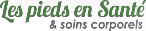 Logo Les pieds en santé et soins corporels