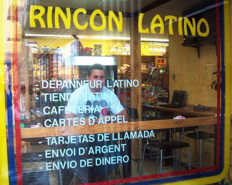 Rincon Latino du Quartier Notre-Dame, au centre-ville de Victoriaville