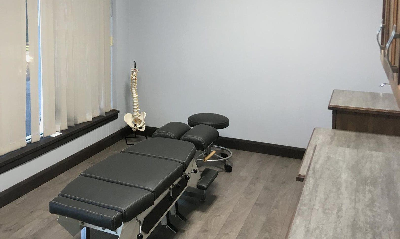Clinique chiropratique Christopher Randoll du Quartier Notre-Dame, au centre-ville de Victoriaville