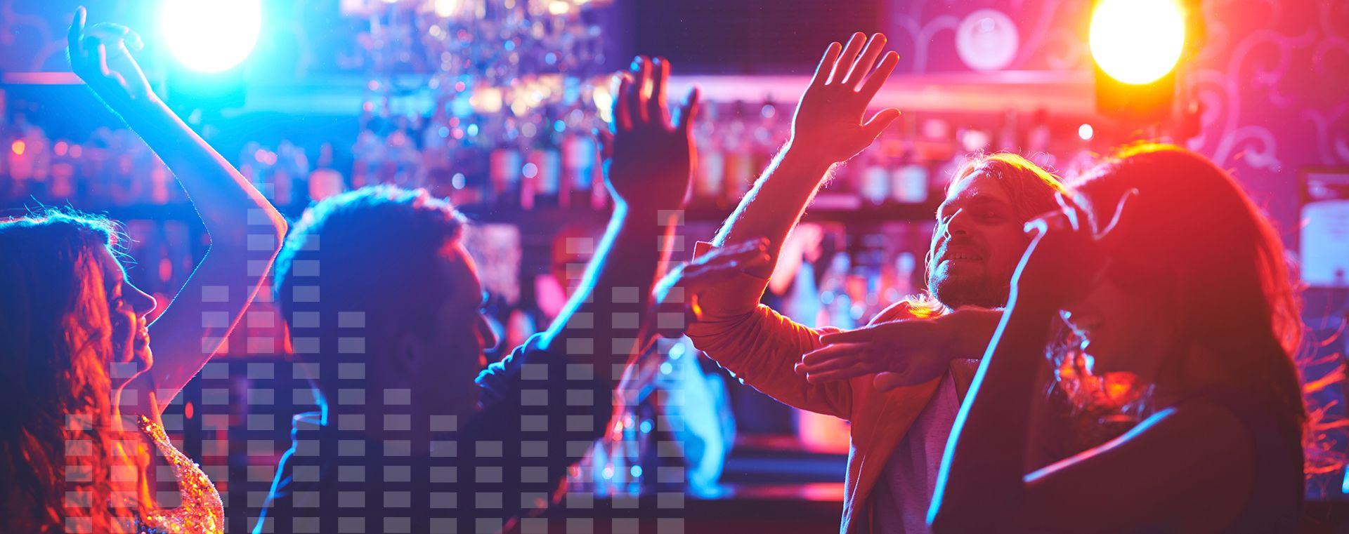 L'Évaz Night Club du Quartier Notre-Dame, l'une des 4 ambiances du Complexe Évasion au centre-ville de Victoriaville