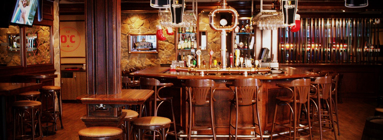 Le O'Connell Pub Irlandais du Quartier Notre-Dame, l'une des 4 ambiances du Complexe Évasion au centre-ville de Victoriaville