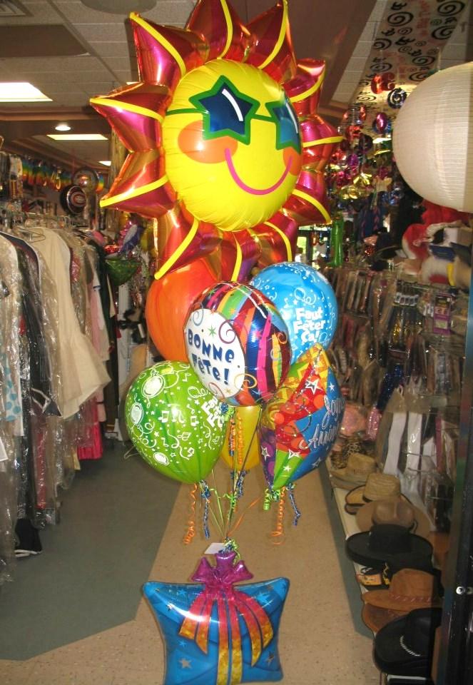 Ballon Style du Quartier Notre-Dame, au centre-ville de Victoriaville