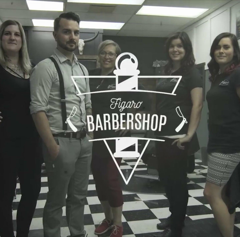 Figaro Barbershop du Quartier Notre-Dame, au centre-ville de Victoriaville