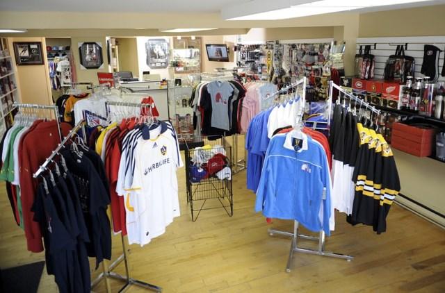 Boutique sportive Alexcardz du Quartier Notre-Dame, au centre-ville de Victoriaville