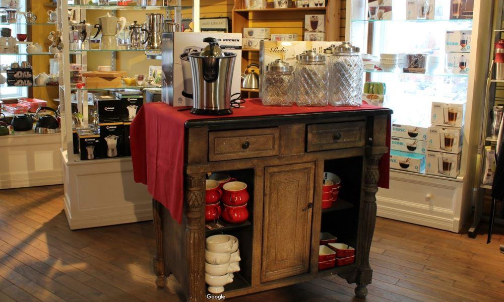 Boutique Bonne Cuisine du Quartier Notre-Dame, au centre-ville de Victoriaville