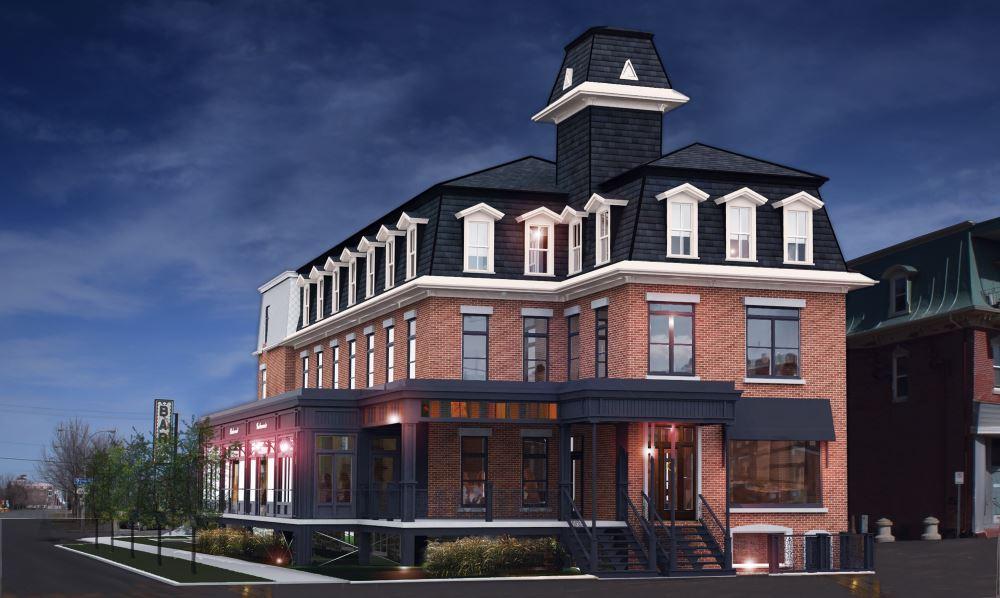 Le Grand Union, hôtel mythique et patrimonial, renaîtra bientôt au centre-ville de Victoriaville