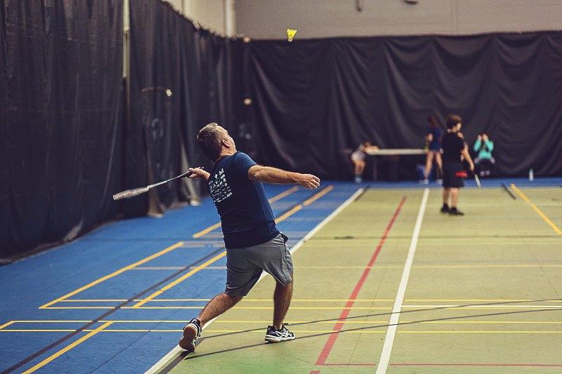 Badminton au Pavillon Agri-Sports de Victoriaville