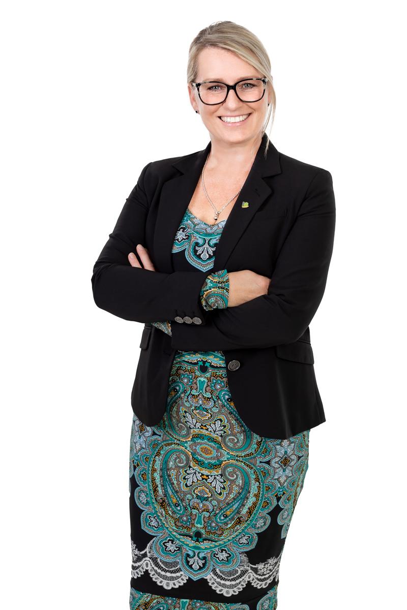 Portrait officiel, Caroline Pilon