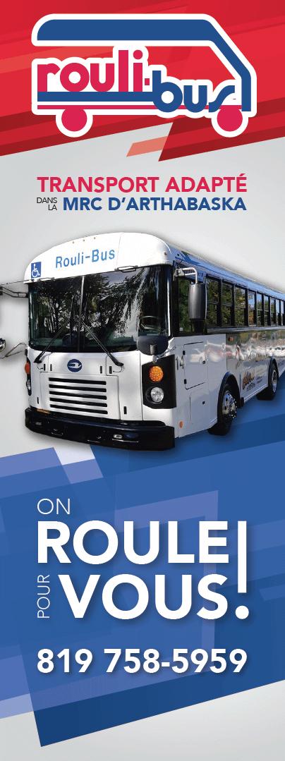 Affiche officielle du service TaxiBus (2019)