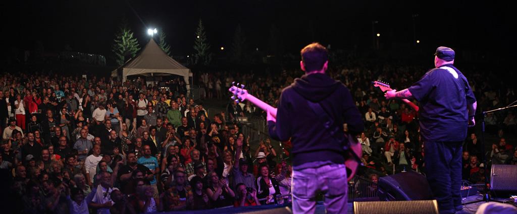 Festival de Blues de Victoriaville au parc Terre-des-Jeunes