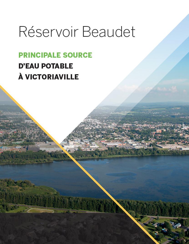 Réservoir Beaudet, principale source d'eau potable à Victoriaville