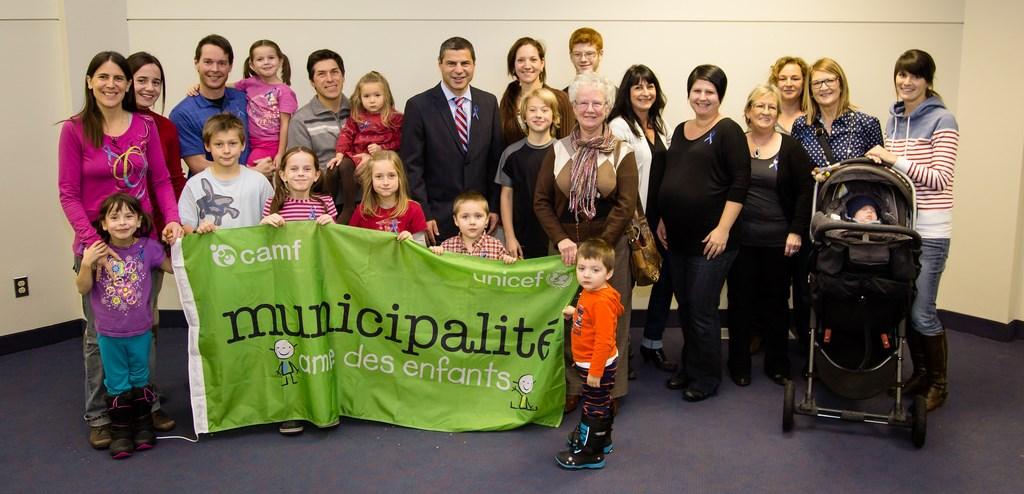 Victoriaville est une Municipalité Amie des Enfants