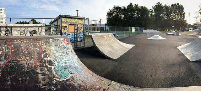 Skatepark extérieur de Victoriaville