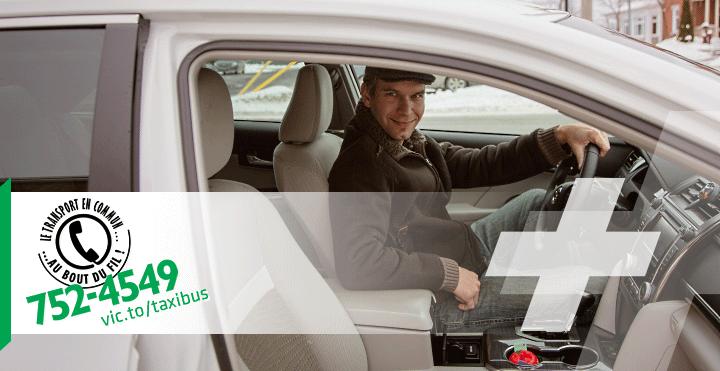 Chauffeur du service TaxiBus