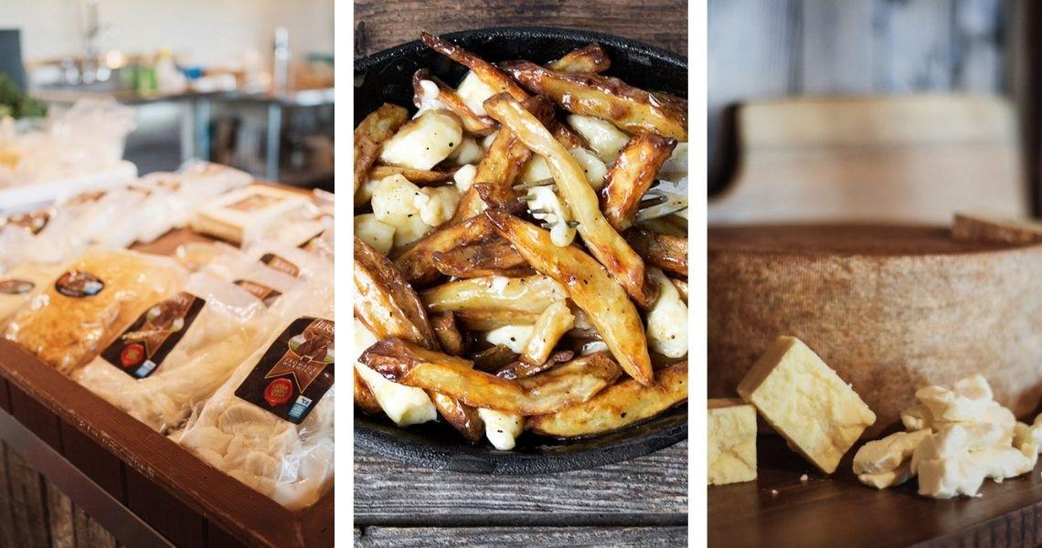 Une bonne poutine maison avec le super fromage en grains de Fromage Warwick! Crédit photo: Les Maxime (droite/gauche)