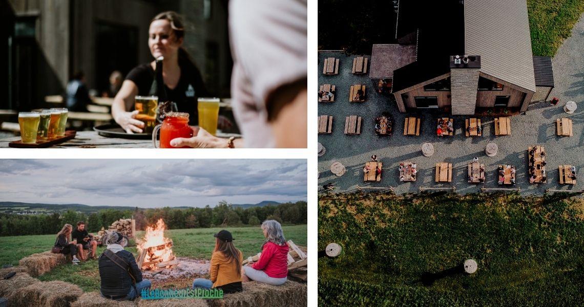Les différentes facettes de la Grange Pardue - Crédits photos: Les Maximes